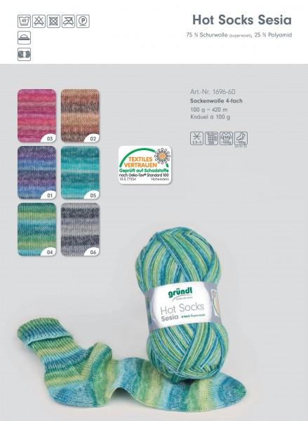 Hot Socks Sesia 4-fach